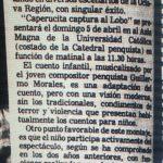 1981 - Doña Bruja y el lobo - El Sur 29 enero