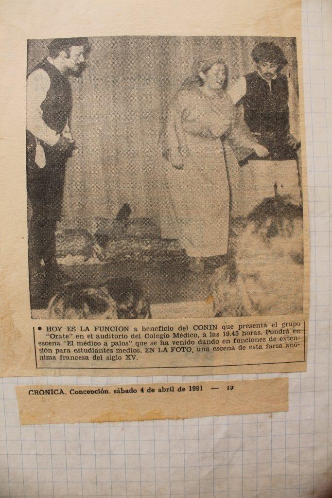1981 - El médico a palos - Crónica 4 de abril - Gentileza de Berta Quiero