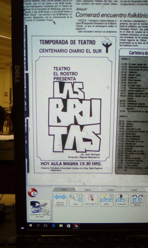 1982 - Las brutas - El Sur 19 de agosto