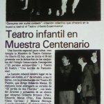 1982 - Teatro infantil en Muestra Centenario - El Sur 24 de septiembre