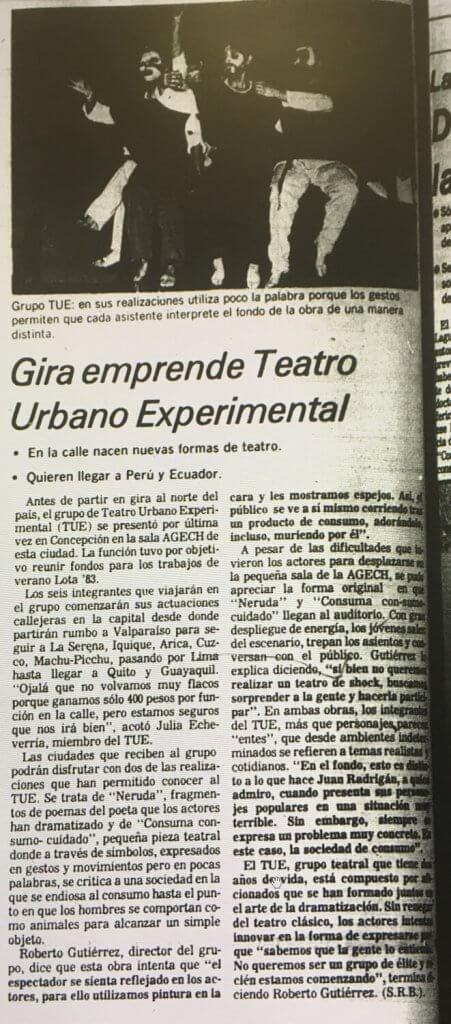 1983 - Neruda - Consuma consumo cuidado - El Sur 10 enero