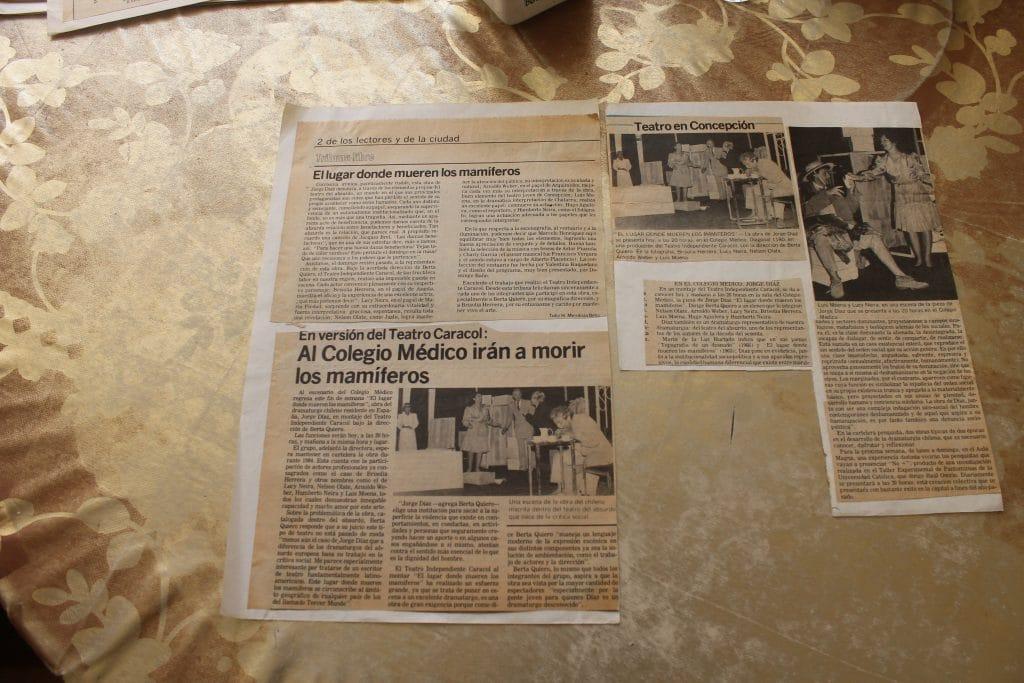 1983 - El lugar donde mueren los mamíferos - Gentileza de Berta Quiero