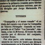 1983 - Trampolín y el nomo rosado - El Sur 19 de marzo