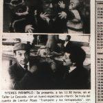 1983 - Trampolín y los Fantapeludos - El Sur 17 de abril