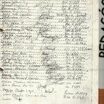 1984 - Lista de asistencia Taller de Teatro jueves - Gentileza del Colegio de Profesores