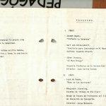 1985 - Semana del Profesor - portada - Gentileza del Colegio de Profesores