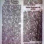 1985 - Pinocho - El Sur 8 de noviembre