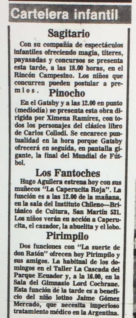 1986 - La Caperucita Roja