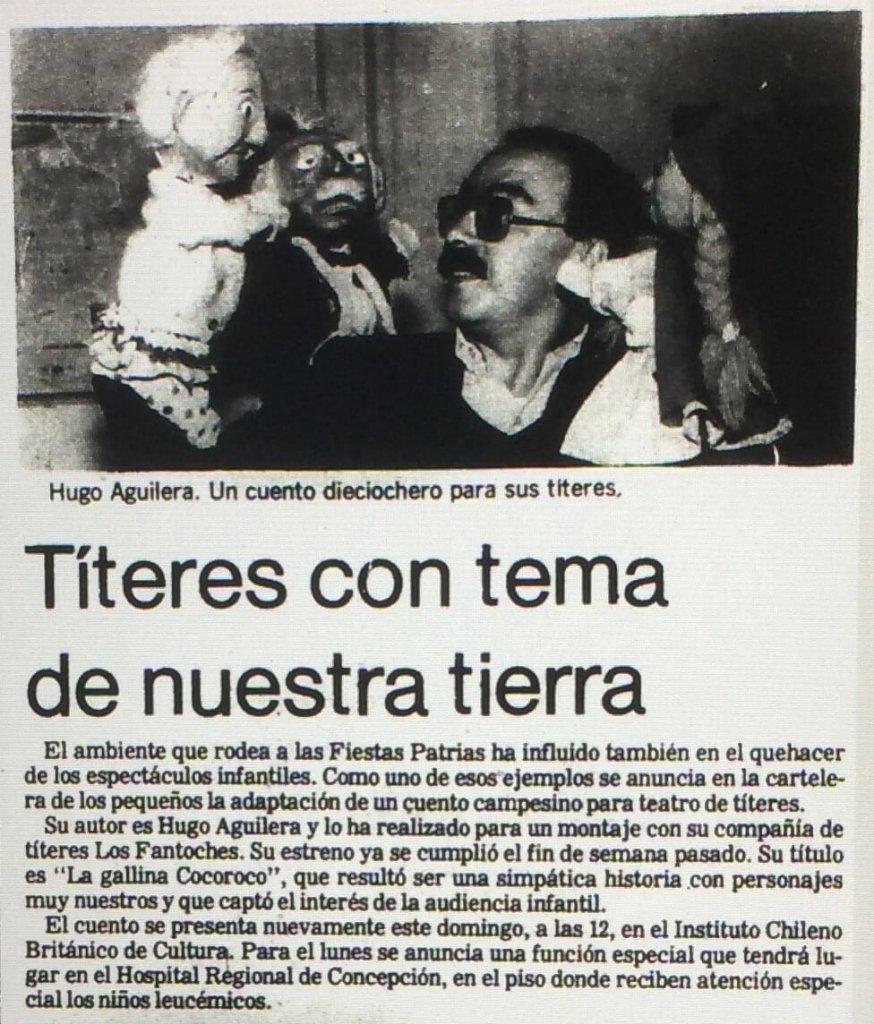 1986 - La gallina cocoroca - El Sur 13 de septiembre