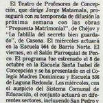 1986 - La propuesta matrimonal - La fablilla del secreto bien guardado - El Sur 26 de octubre