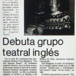 1986 - The real inspector hound - El Sur 09 de julio