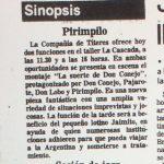 1986 - La suerte de don conejo - El Sur 06 de julio
