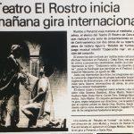1986 - Retablo de Yumbel - El Sur 10 de noviembre