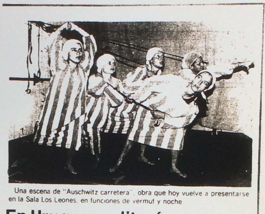 1987 - Auschwitz carretera - El Sur 03 de enero