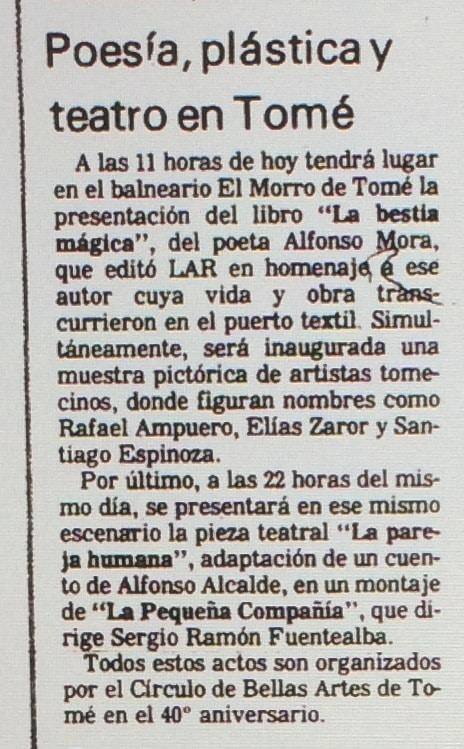 1987 - La pareja humana - El Sur