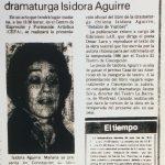 1987 - Retablo de Yumbel - El Sur 27 de marzo