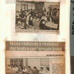 1988 - II Encuentro de Teatro del Sur - El Austral de Valdivia enero - Gentilza del Colegio de Profesores