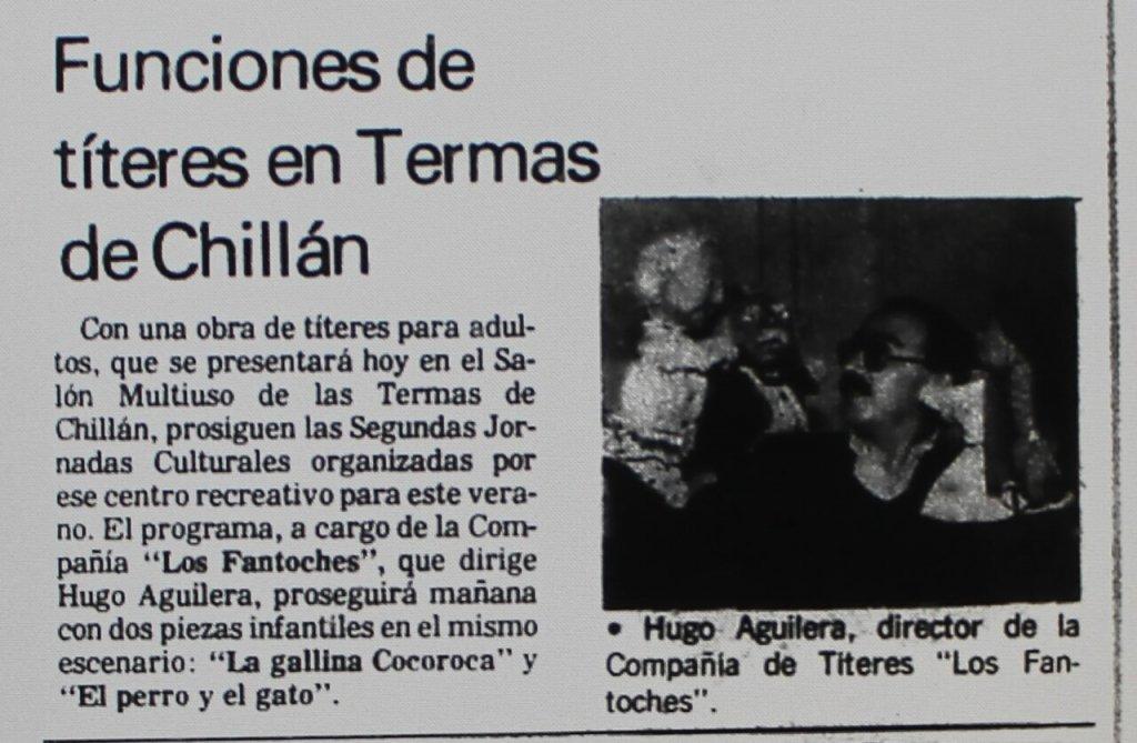 1988 - La gallina cocoroca - El Sur 13 febrero