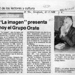 1988 - La Imagen - El Sur 21 mayo 1988 - Biblioteca Nacional