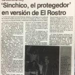 1989 - Sinchico, el protegedor - El Sur 2 de septiembre