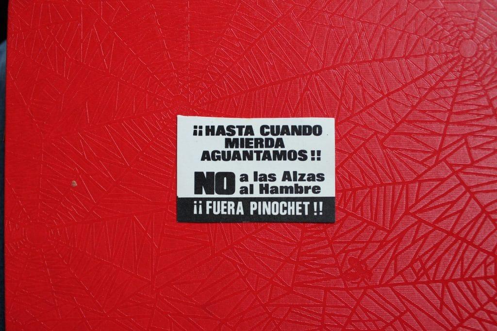 Panfleto - Gentileza de Coti Donoso