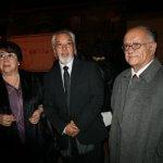 Ximena Ramírez - Julio Muñoz - Gustavo Sáez - Gentileza de Compañía de Teatro El Rostro